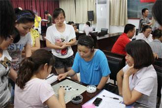 五子棋比赛图片